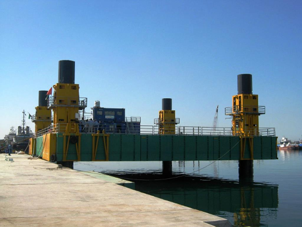 FLOATING SYSTEMS and PONTOONS