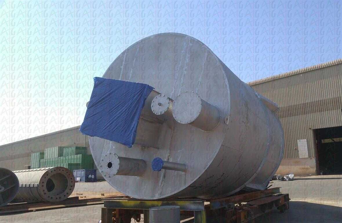 STAINLESS STEEL - BUFFER SILO