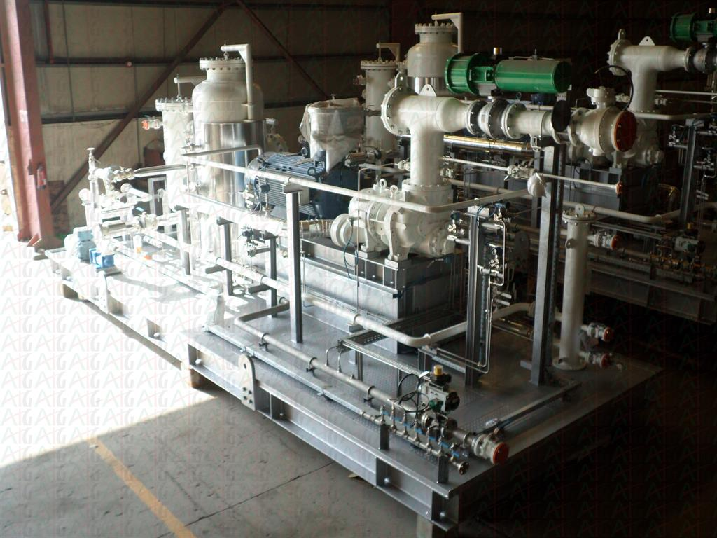 Vapour Recovery Units (VRU) Skid Package