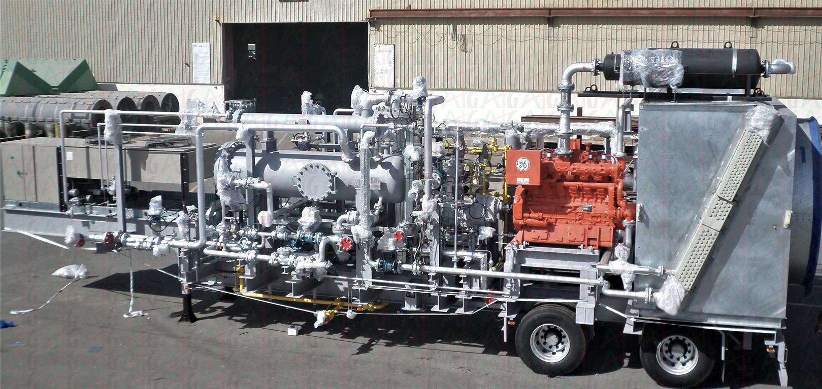 MOBILE COMPRESSOR SKID PACKAGE