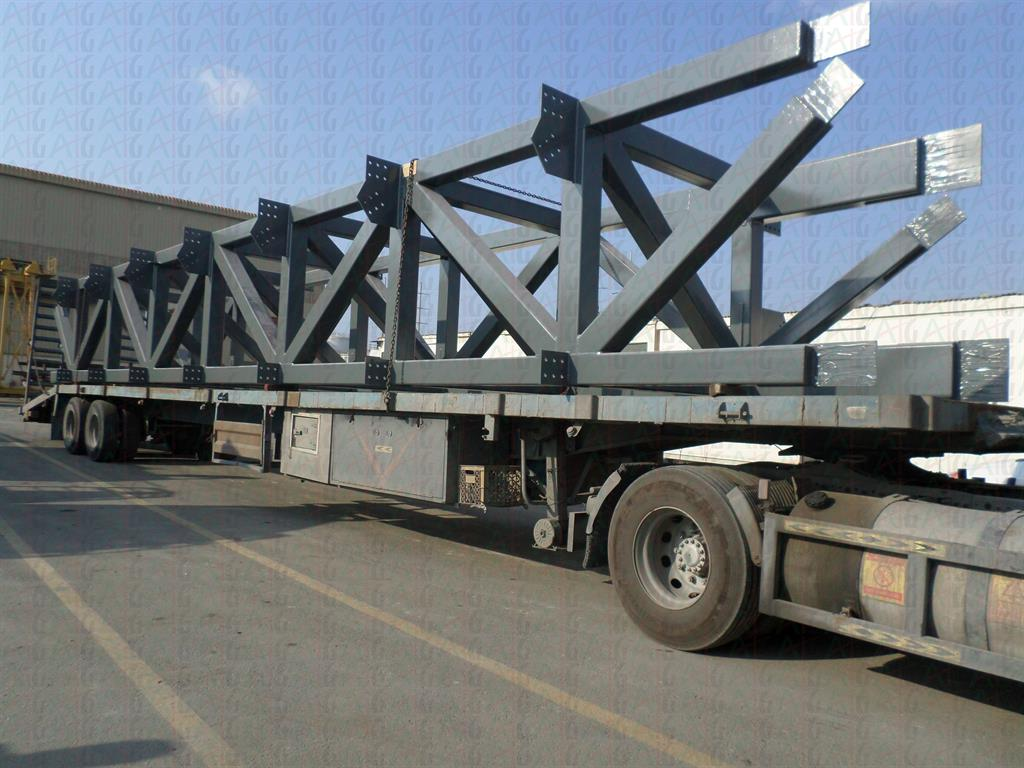 TRUSSES FOR AL-AIN HOSPITAL