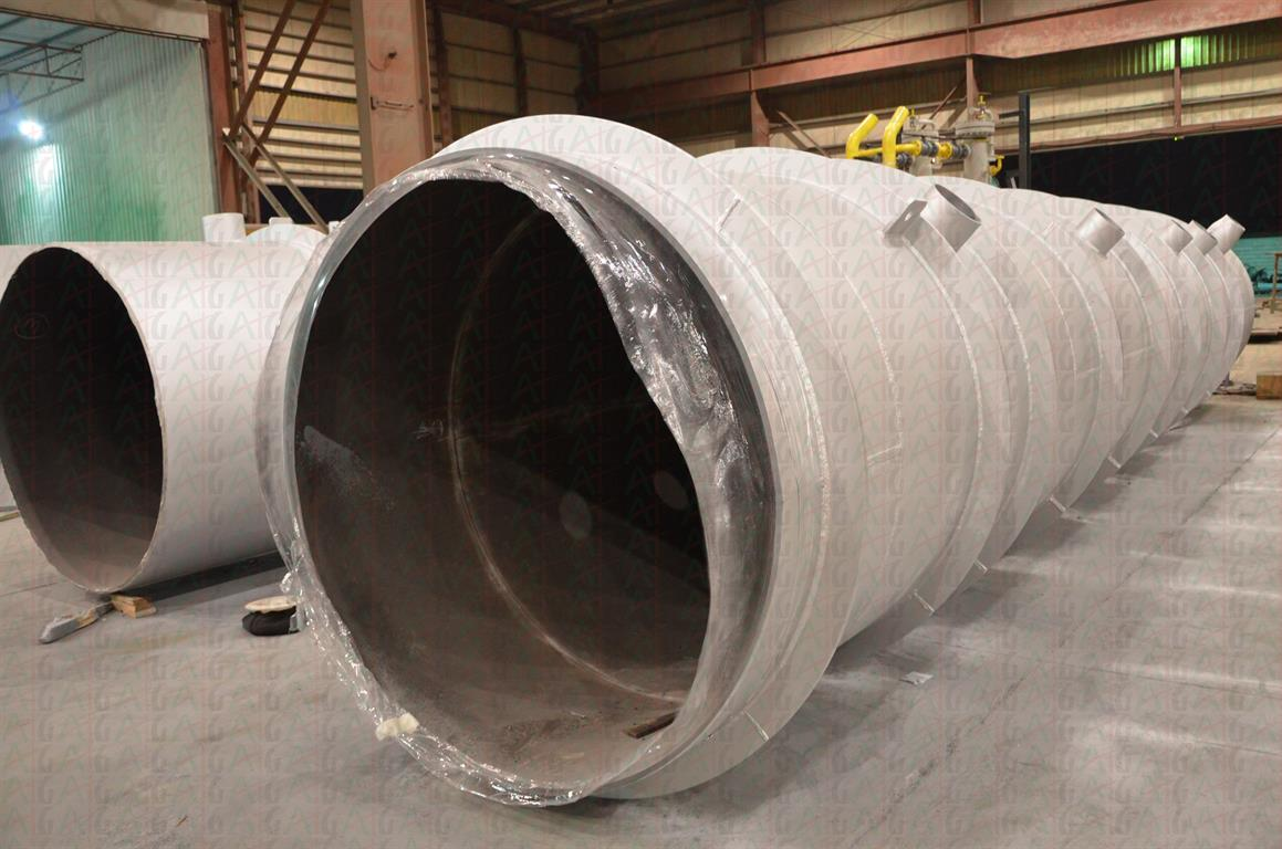 ACC STEAM DISTRIBUTION DUCTING